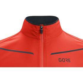 GORE WEAR R3 Gore-Tex Infinium Partial Jacket Men fireball/orbit blue
